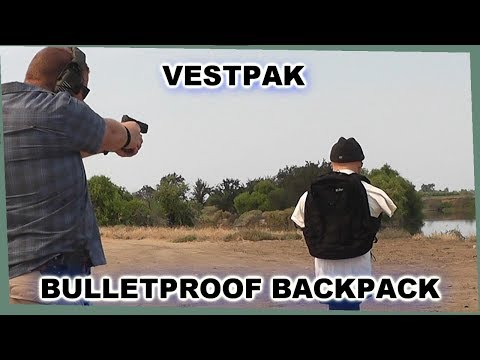 Amazing Bulletproof Backpack you can now own