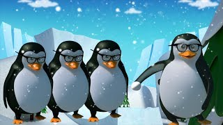 Пять маленьких пингвинов | Лучшие русские стихи | Preschool Song | Kids Rhyme | Five Little Penguins