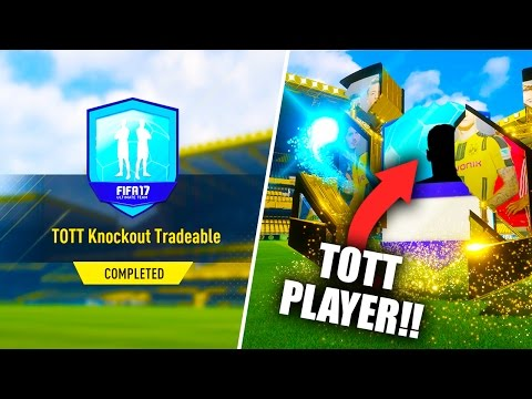🔵 GUARANTEED TOTT PLAYER!! 🔵 TOTT KNOCKOUT TRADEABLE SBC! (COMPLETED/EASY) FIFA 17 ULTIMATE TEAM