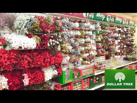 DOLLAR TREE CHRISTMAS DECORATIONS CHRISTMAS DECOR ORNAMENTS SHOP WITH ME SHOPPING STORE WALK THROUGH