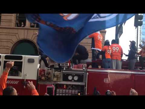 Denver Broncos Superbowl Parade 2016