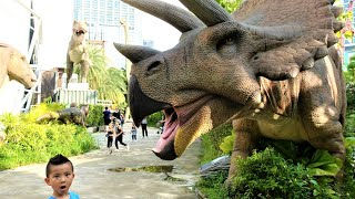 Visiting Dinosaur Planet Family Fun With CKN Toys