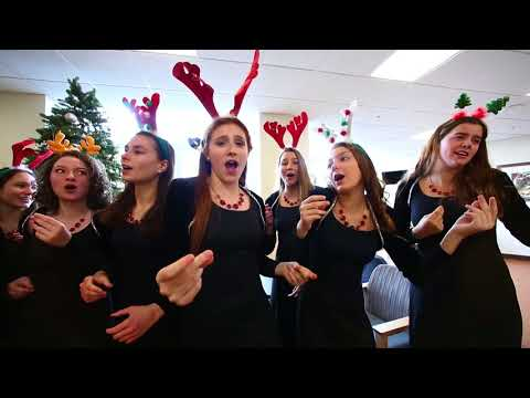 Holiday music performed by local high school students at Lehigh Valley Hospital–Muhlenberg