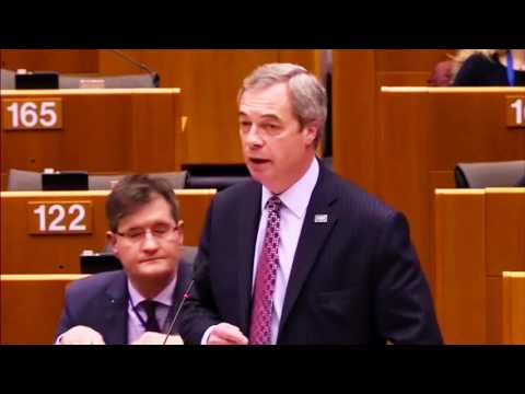 Nigel Farage exposes EU hypocrisy and faux outrage over President Trump