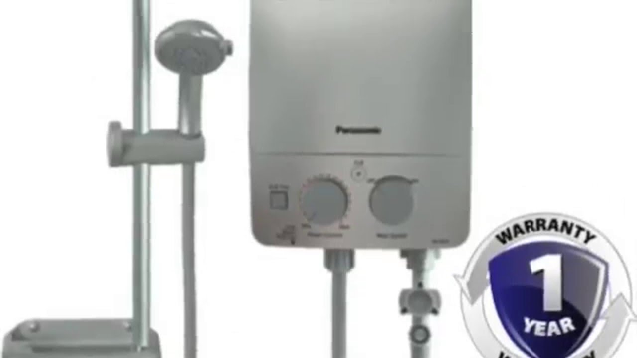 Shower Water Heater Panasonic Instant Water Heater Youtube