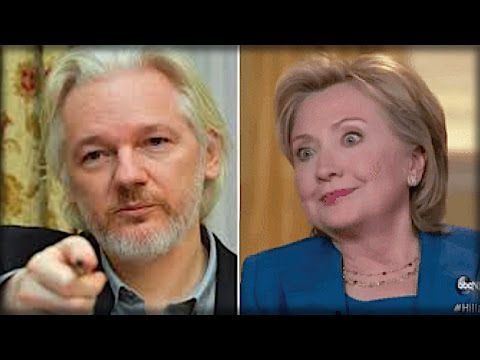KILL SHOT! WHAT JULIAN ASSANGE JUST LEAKED ABOUT HILLARY CLINTON WILL BE THE END OF HER…