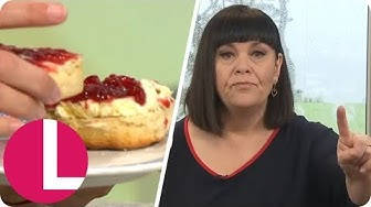 Dawn French Starts a Scone War With Lorraine and Reveals Reunion With Jennifer Saunders | Lorraine