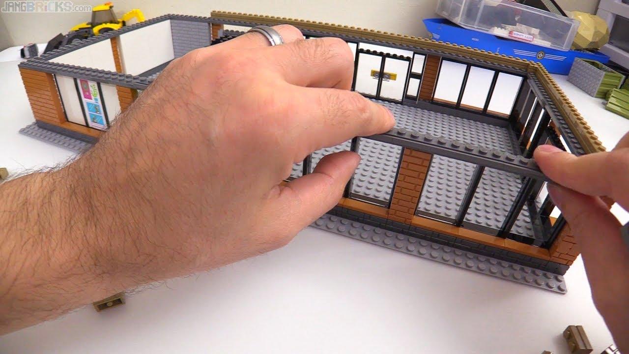 time lapse custom lego music shop moc progress 2 youtube. Black Bedroom Furniture Sets. Home Design Ideas