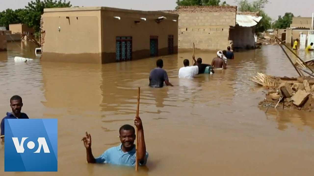 Sudan Villagers Recover From Devastating Nile Water Floods - YouTube