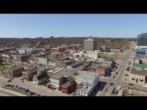 Drone Footage of Barrie, ON