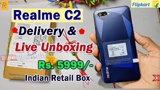 Realme C2 Flipkart Unboxing & Overview, Color Os 6 & Android Pie | Only ₹5999 Best Budget Smartphone