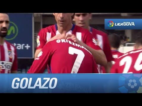 Golazo de Griezmann (0-1) Real Sociedad - Atlético de Madrid