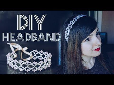 ОБОДОК ИЗ ПРОВОЛОКИ И БУСИН / Easy Hair Jewelry