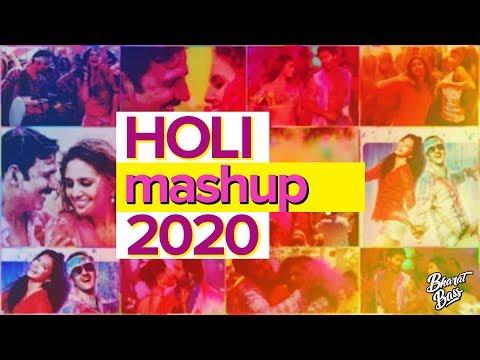 Holi Mashup 2019  Best Holi Hindi Songs Remix  Bharat Bass