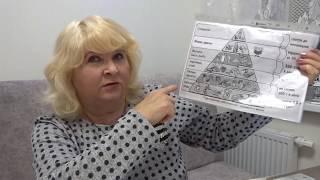 Пирамида питания правильное питание ПП здоровье