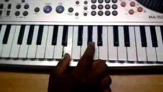 mandara cheppundo Malayalam Film song Piano tutorial 2 By Ajith