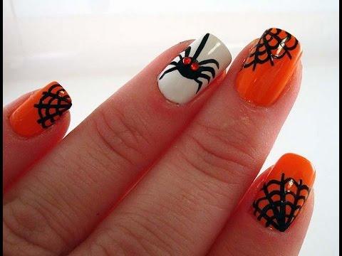 Decoración de Uñas para Halloween - Halloween Nail Art ...
