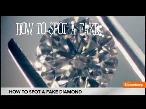 How to Spot a Fake Diamond - YouTube
