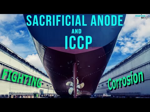 Impressed Current Cathodic Protection on Ships