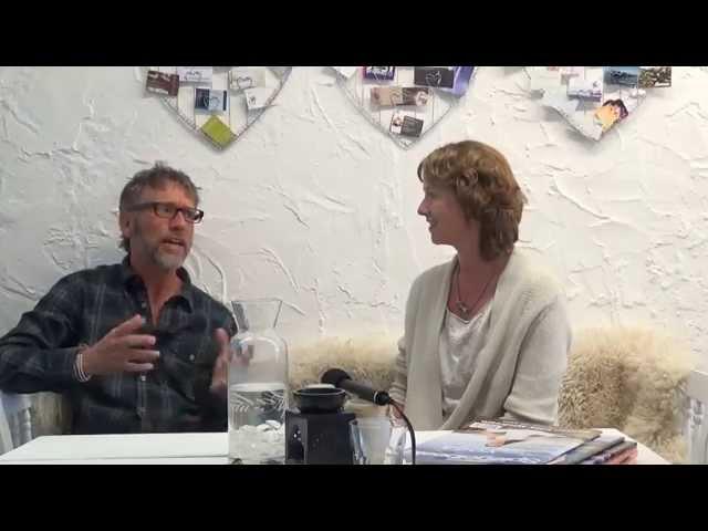 Heleen in gesprek met Frank Bruining