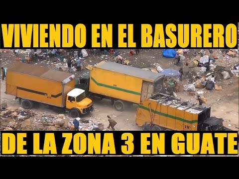 Viviendo En El Basurero De La Zona 3 En Guatemala