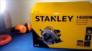 Sierra Circular STANLEY 1600W | Revisión y Ajuste.