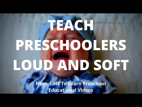 Teach Preschoolers Loud and Soft | Children Learn Music