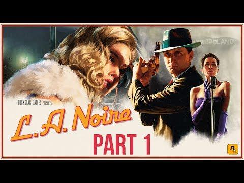 LA Noire Remastered Gameplay Walkthrough Part 1 - INTRO (Xbox One X 4K))