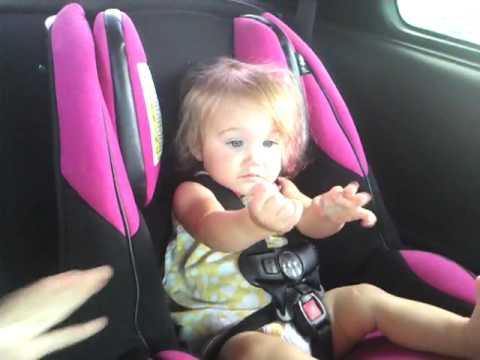Car seat baby dance - YouTube