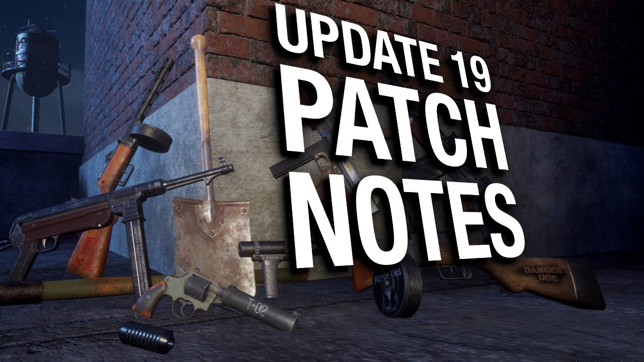 Update 19 PATCH NOTES (and the future of State of Decay 2)
