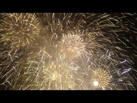 Fireworks/ ohnostroj Bratislava Slovakia 2017