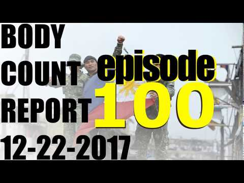 Body Count Report 12-22-2017 - 100th Episode - Asia, Africa, Mid-East, N America, Europe, Australia
