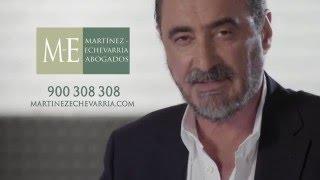 Defiende tu dinero: spot Martínez-Echevarría Abogados - Cláusula Suelo