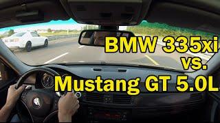 BMW N54 335xi vs. Mustang GT 5.0L