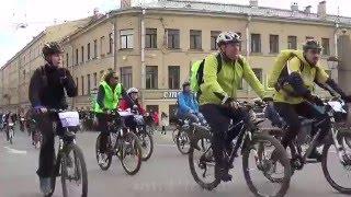Открытие велосезона - 2016. (СПб)
