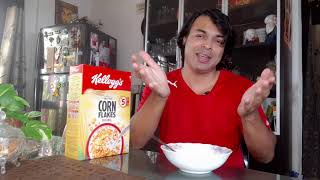 Cornflakes For Breakfast | क्या कॉर्नफ्लेक्स हेल्थ के लिए अच्छा है | BREAKFAST BEFORE DIABETES screenshot 5