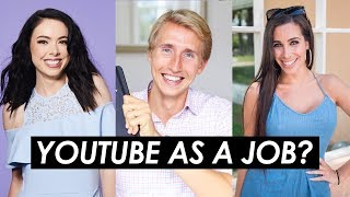 How to Make YouTube Your Full-Time Job — 3 Tips