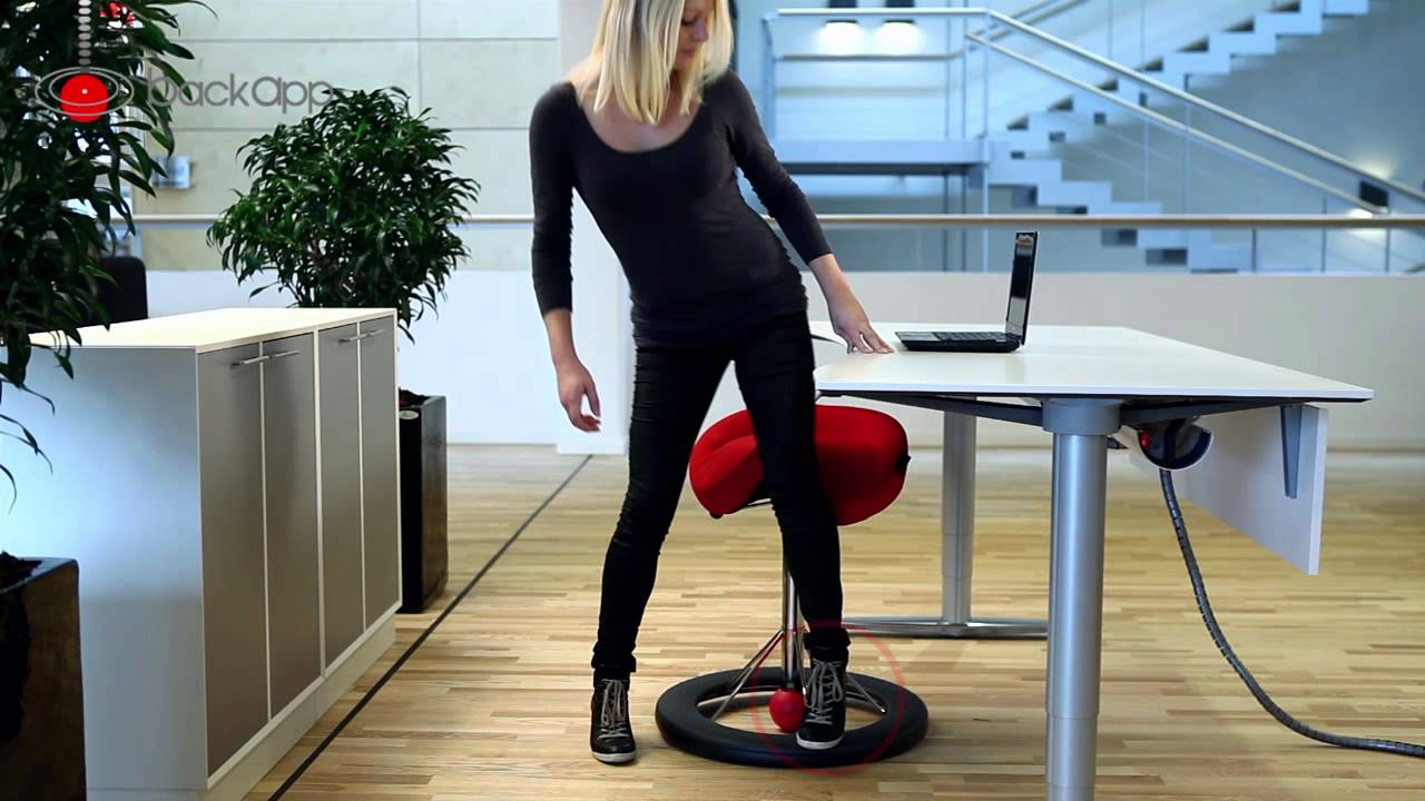 How to use the Back App ergonomic chair YouTube