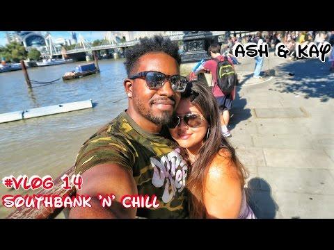#Vlog 14 | Southbank Chill | Bodeans | Tour De Britain | Ash & Kay