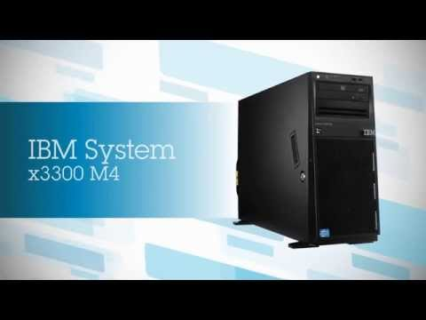 IBM System X3300 M4   Flexible, Cost Optimized X86 Tower Server