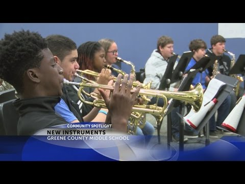 Greene Co. Middle receives national grant for music education
