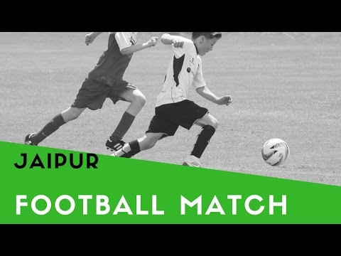 Football match in jaipur (RIET college jaipur win) sport#6