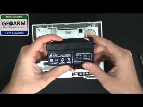 Ge Simon Xt Diy How To Install The 60 914 Backup Battery