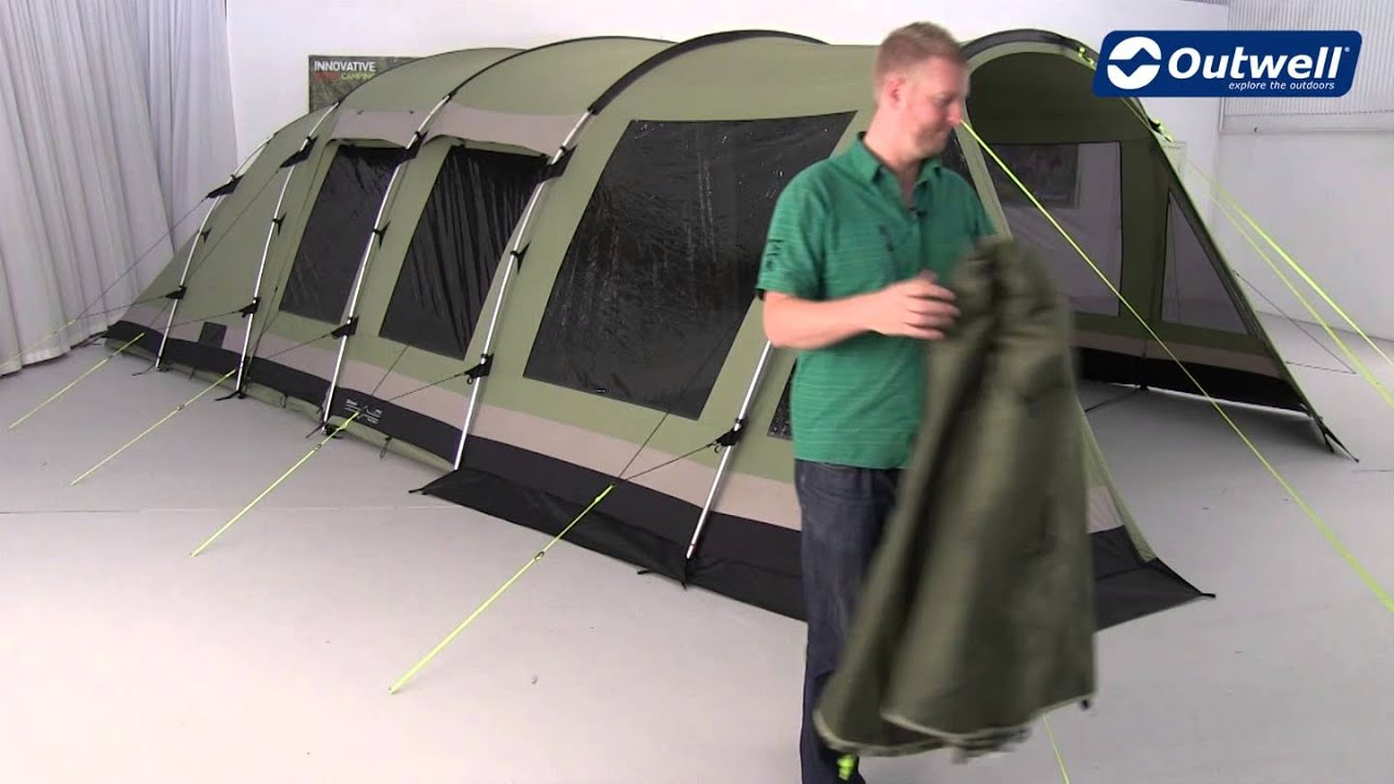 & Outwell Tent Wolf Lake 7 - YouTube