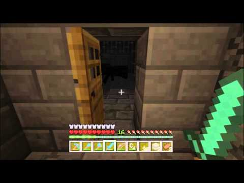 Minecraft Xbox 360 1.0.1 #74 - Stronghold Exploration, Silverfish Pro Tip
