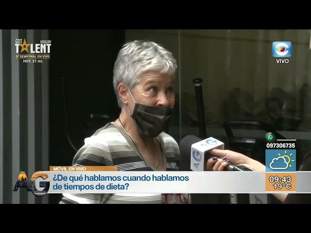 Elizabeth Goncalves en Arriba Gente (2020-11-09)