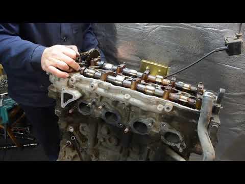 Полный разбор двигателя SR20 в реальном времени.