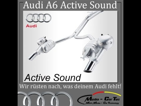 nachr stung motorger uscherzeugung audi active sound. Black Bedroom Furniture Sets. Home Design Ideas