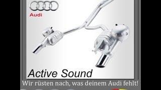 Nachrüstung Motorgeräuscherzeugung Audi Active Sound - Audi A6 4G - Artikel: 4124 & 4125 & 4126