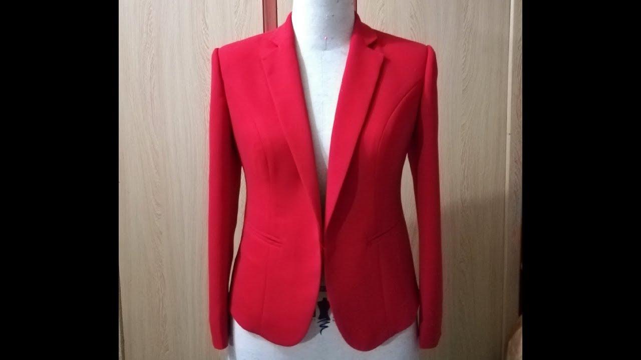 Dạy cắt may cơ bản: hướng dẫn cách may áo vest nữ cổ 2 ve bài 2| may áo vest nữ, hoàng sơn designer
